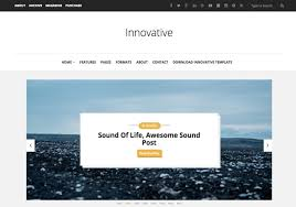 innovative blogger template u2022 blogspot templates 2018