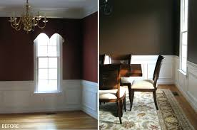 dining room trim ideas shocking dining room wall trim white wood transitional pict for