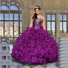 15 quinceanera dresses 2017 new beading purple quinceanera dresses gowns for 15