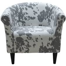 Cowhide Print Animal Print Accent Chairs Joss U0026 Main