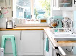 Light Blue Kitchen Cabinets by Retro Kitchen Appliance Retro Kitchen Ideas With Blue White