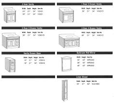 Standard Vanity Height Nz Bathroom Cabinet Measurements Part 38 Medium Size Of