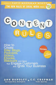 content rules how to create killer blogs podcasts videos