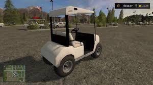 golf cart v1 ls17 farming simulator 2017 17 ls mod