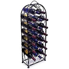 sorbus wine rack stand bordeaux chateau style holds