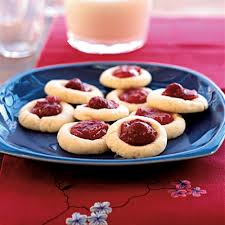 thanksgiving cookies recipe raspberry thumbprint cookies recipe myrecipes