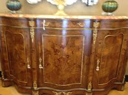 French Style Furniture by French Style High End Serpentine Credenza