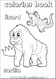 good gorilla coloring pages printable with gorilla coloring pages