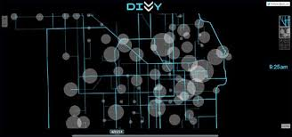 divvy bike map maps mania maps of the week