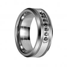 Tungsten Wedding Rings by Queenwish Discover The Perfect Tungsten Wedding Rings For Him And