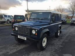 land rover defender 4 door interior used land rover defender 2010 for sale motors co uk