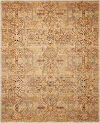 Gold Area Rugs Nourison Rhapsody Light Gold Area Rugs