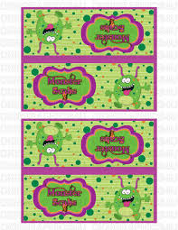 halloween sandwich bags halloween monster scabs sandwich bag toppers for parties and or