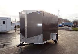enclosed trailer exterior lights 6 x 12 charcoal cargo trailer with light duty r advantage trailer