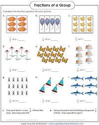 fraction worksheets worksheets