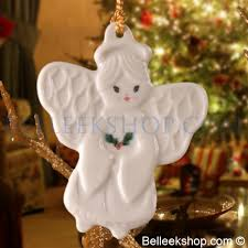 belleek with ornament belleek