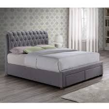 double bed birlea valentino 2 drawer double bed grey furniture123