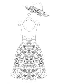 94 fashion coloring pages images coloring