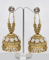 jhumka earrings online large golden jhumka online shopping shop for great
