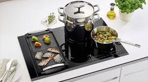 cuisiner avec l induction table induction la modularité
