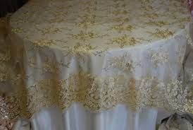 gold lace table runner image of lace overlay table linens lace table overlay toppers