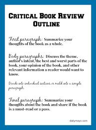 sample creative writing essays critical book review example and tutorial book review and books critical book review example and tutorial daily mayo daily mayo writing helpreading bookscreative