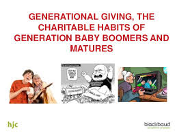 Baby Boomer Meme - generational giving the charitable habits of generation baby boomers