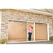 amazon com disappearing retractable screen for garage porch