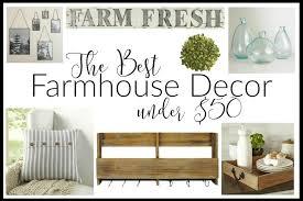 the best farmhouse decor under 50 domestically creative
