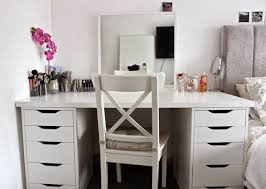 Diy Makeup Vanity Desk Bedroom Vanit Makeup Desks Diy Vanity Mirror Ikea Makeup