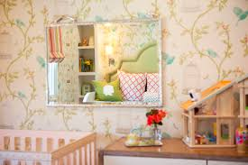 a girls toddler room to grow into together with the silhouettes on