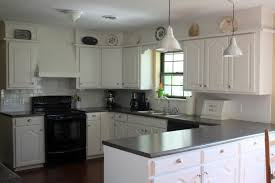 dark floor white kitchen cabinets awesome smart home design