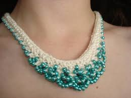crochet necklace with beads images Jewellery designing tips to make crochet jewellery using beads jpg