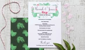 Catholic Wedding Booklet Order Of Service Template How To Do The Wedding Order Of