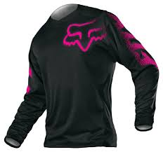 fox motocross gear combos fox racing women u0027s blackout jersey ladies motorcycle gear