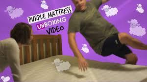 purple mattress reviews purple mattress unboxing video over 215 000 views youtube