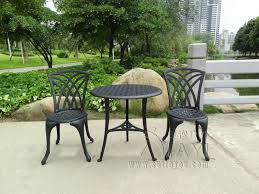 outside table and chairs for sale cast aluminum outdoor garden patio table and 2 chairs setting 3