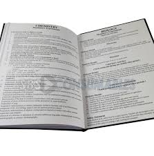 periodic table science book a4 hardback science notebook office supplies uk