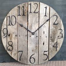 best 25 large wooden clock ideas on how to make wall