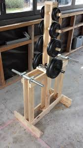 Diy Wood Squat Rack Plans by Best 25 Dumbbell Rack Ideas On Pinterest Gym Dumbbells Weight