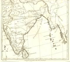 South India Map by Ancientindia1787