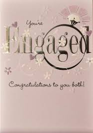 Congratulations Engagement Card Engagement Card