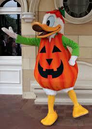 Pumpkin Costume Halloween Disneyland Donald Duck Halloween Pumpkin Costume