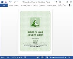 holiday flyer templates free templates franklinfire co