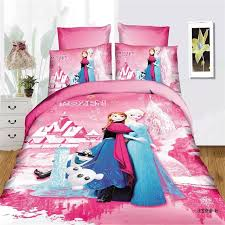 disney frozen practice girls bedding set duvet cover bed sheet