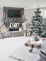 35 living room christmas decoration ideas for beautiful decor