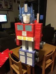 optimus prime pinata piñata logo de transformers piñatas transformer