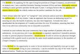 caregiver cover letter sample u0026 writing tips resume companion