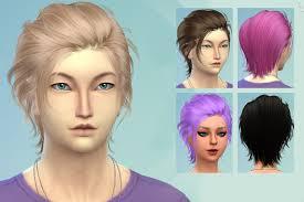 sims 4 blue hair emvee s sims 4 roost i really love hagalaz sims new ilya hair