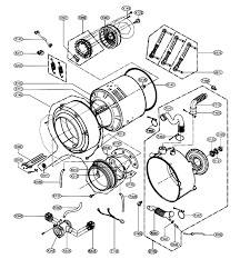 exploded diagram of washing machine parts u2013 domestic appliance and